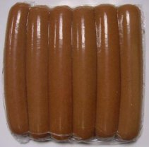 Вакуумная упаковка сосисок в термоусадочные пакеты