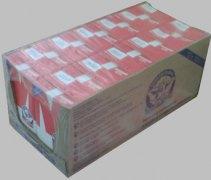 Групповая упаковка пакетов молока