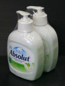 Групповая упаковка жидкого мыла по 2 штуки