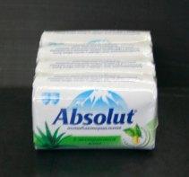 Групповая упаковка туалетного мыла