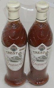 Термоусадочная упаковка стеклянных бутылок по 2 шт